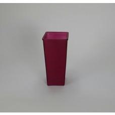Matte RSbTapered Glass Rose Vase