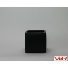 BLACK CERAMIC CUBE