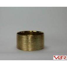 ETCHED GOLD CYLINDER