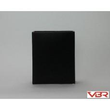 BLACK CERAMIC TALL REC
