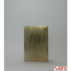 ETCHED GOLD RECTANGLER