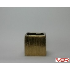 ETCHED GOLD CUBE